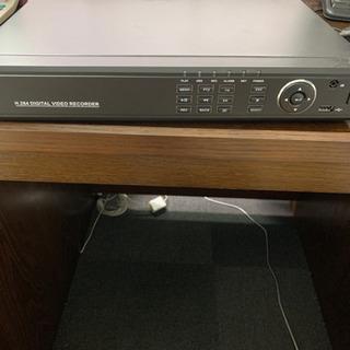 防犯カメラ 一式セット カメラ2台 レコーダー、配線類など