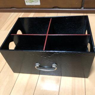 未使用木製、整理箱