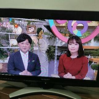 【すでに決まってます】SHARPテレビの画像