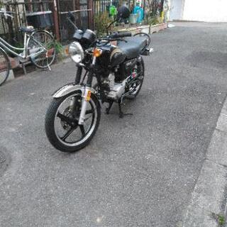 原付 ヤマハYB125 ほぼ新車