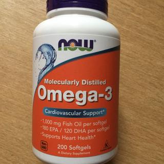 ナウフーズ オメガ3 Omega-3 フィッシュオイル  EPA...