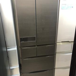 新生活応援!安心の6ヶ月保証! 三菱 6ドア ノンフロン冷蔵庫