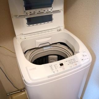 取引中【ハイアール】5.0kg 全自動洗濯機 ホワイト(保証付)