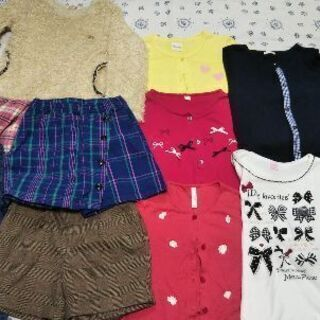 無料★130~150cm女の子服 ★郵送は有料