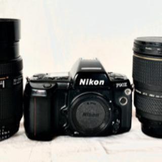 中古Nikon フィルムカメラセット
