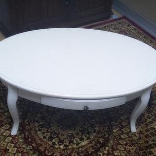 ホワイト 白 アンティーク テーブル テーブル