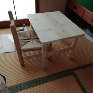 幼児用学習机&椅子 値下げしました