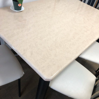 四脚セットダイニングテーブル