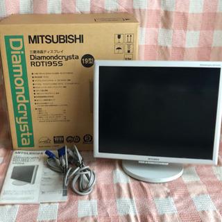 液晶ディスプレイ/モニター/19型/MITSUBISHI