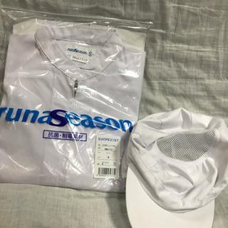 白衣と帽子