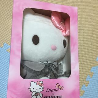【非売品・新品】Diana× HELLO KITTY お人形