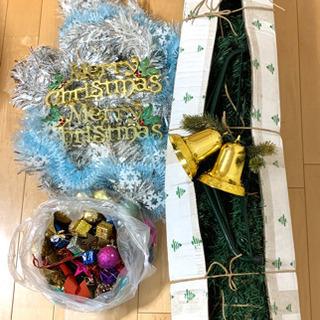 完了 組立式 クリスマスツリー 差し上げます!