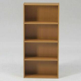 本棚 カラーボックス 4段