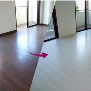 床張替えの半額以下,防音床.床暖房対応,フローリングの傷や古い床...