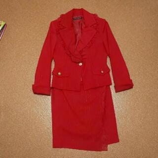 JEAN MACLEAN  赤スーツ