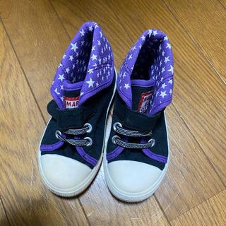 紫×星 15cm スニーカー