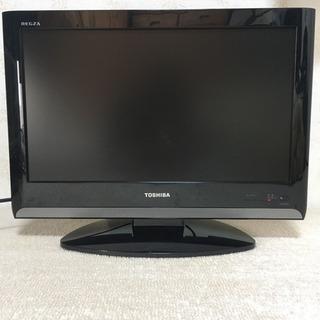 19V型液晶テレビ 東芝REGZA