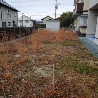 お庭、お墓等、雑草対策防草シート