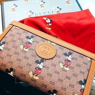 GUCCI☆ミッキー☆長財布☆ラウンドファスナー☆限定品☆新品未使用品