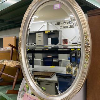 壁掛け ミラー 鏡 白雪姫 アンティーク調 可愛いデザイン♪
