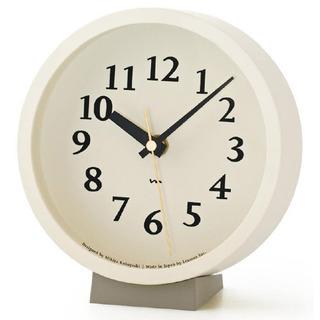 【新品】 電波時計 置き・掛け兼用 置時計にも掛時計にもなります