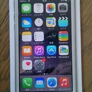 【難あり】iphone5s 16Gb シルバー ソフトバンク i...
