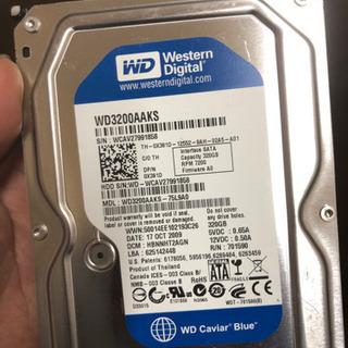 格安! western digital 320GB