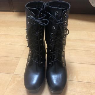新品のブーツ - 靴/バッグ