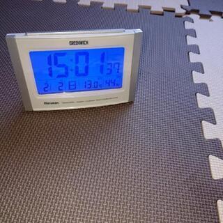 電波置き時計