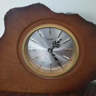 CITIZEN シチズン 置時計 木製