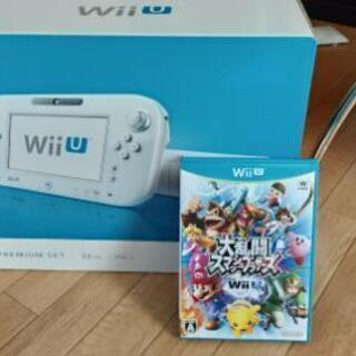 Wii U本体、大乱闘スマッシュブラザーズforWii Uのセット