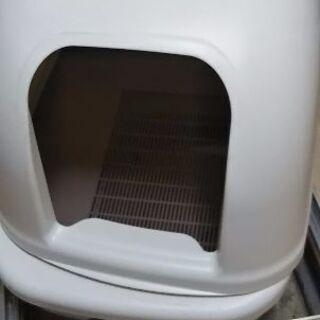 猫用品 デオトイレ フルカバータイプ 専用砂付属