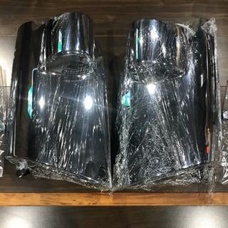 16年式 日産アトラス低床用 新品コーナーメッキカバー