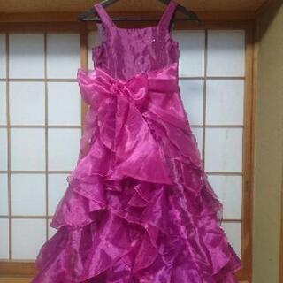 女児ドレス ピアノ発表会 結婚式 140サイズ