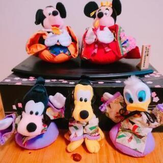 ディズニーひな人形セット