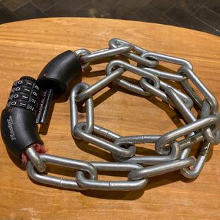 Master Lock ダイヤル式チェーンロック 90cm 自転車バイク用 - 自転車