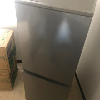 2018年 冷蔵庫 2ドア AQUA 取説あり。 美品 中川区 送料無料〜♪ 早い者勝ち❗️の画像