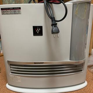 SHARP 加湿電気ファンヒーター 2012年製