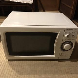 電子レンジ シャープ SHARP RE-T1-W6 中古美品