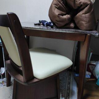 一人用こたつ(机椅子)一式 値下げしました