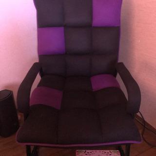 風座椅子 ほぼ新品 背もたれ調整、幅広❣️