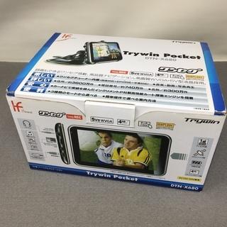 カーナビ Trywin Pocket DTN-X680ワン…