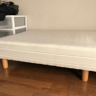 マットレス付き シングルベッド