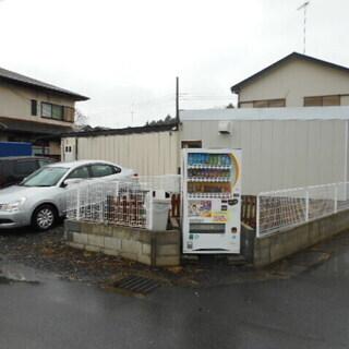 倉庫専用  倉庫兼住宅  床面積約20坪 3台駐車可 大型冷蔵庫...