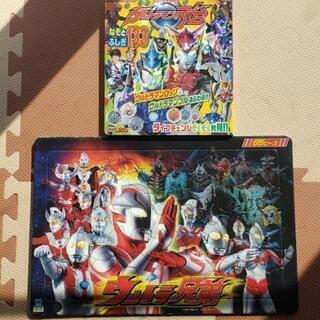 ☆ウルトラマン本+ウルトラマン65ピースパズル☆の画像