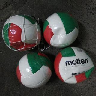 モルテン 軽量4号球 ジュニア 練習用 バレーボール 4個