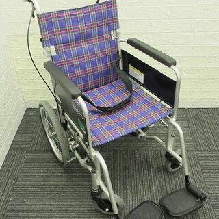 ss0764 カワムラサイクル 介助用車椅子 KAJ402SB ...