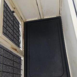 ペットゲージ②屋根あり木製折り畳み式 - 香芝市