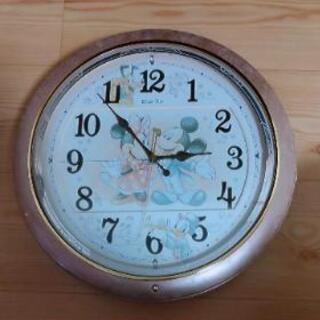 ディズニータイム 電波クロック掛時計