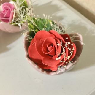 花びら1枚から作るフラワーソープ